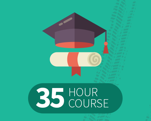 35 hour course logo
