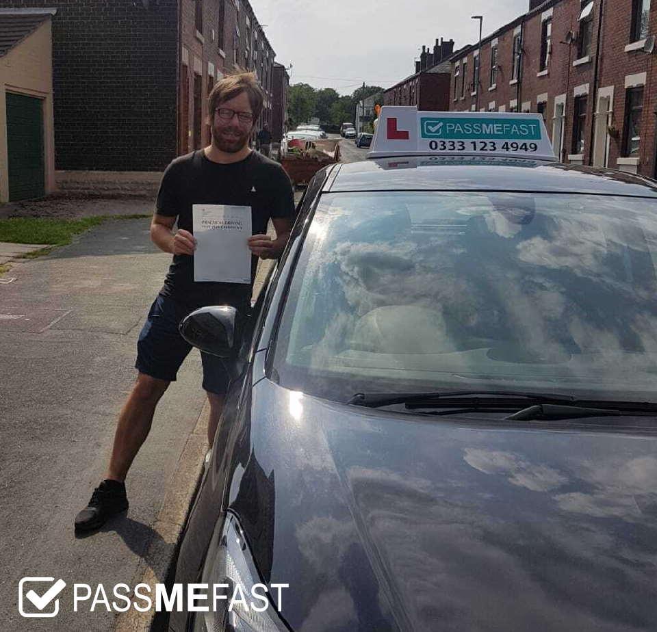 Pass photo of PMF student Adam