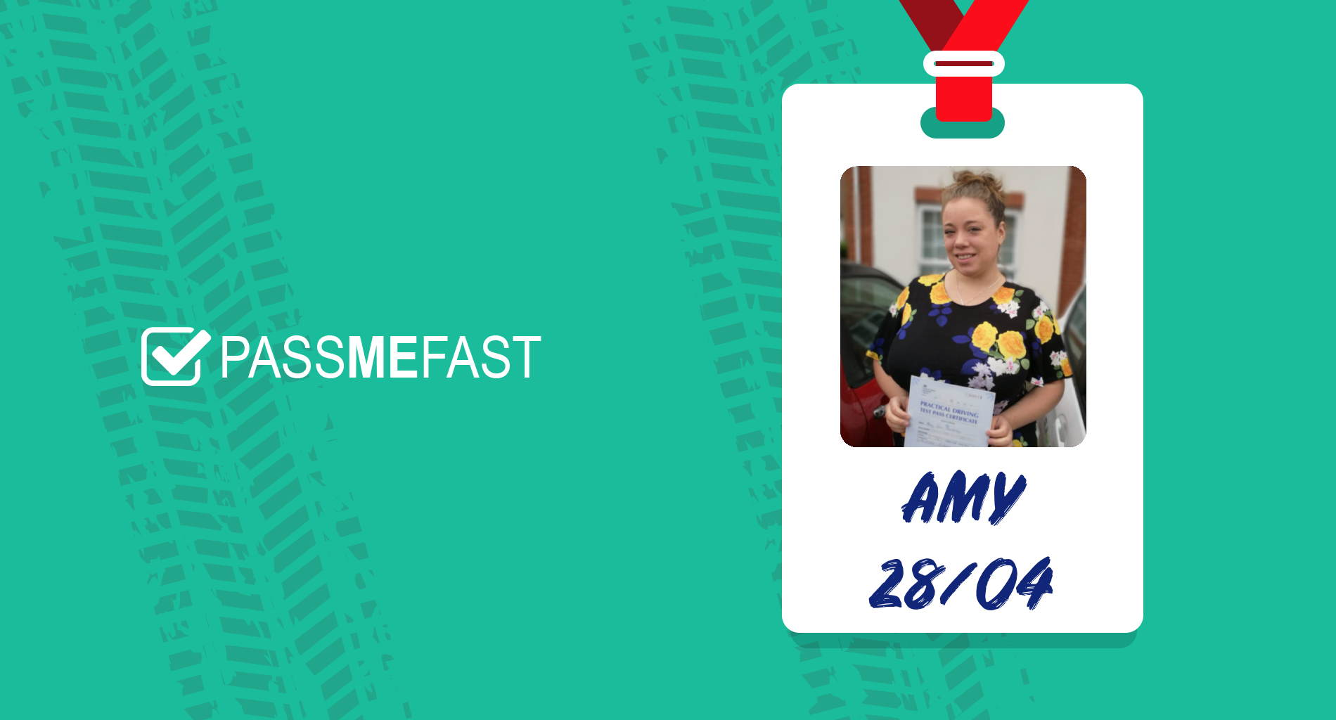 Pass photo of PMF student Amy Dora