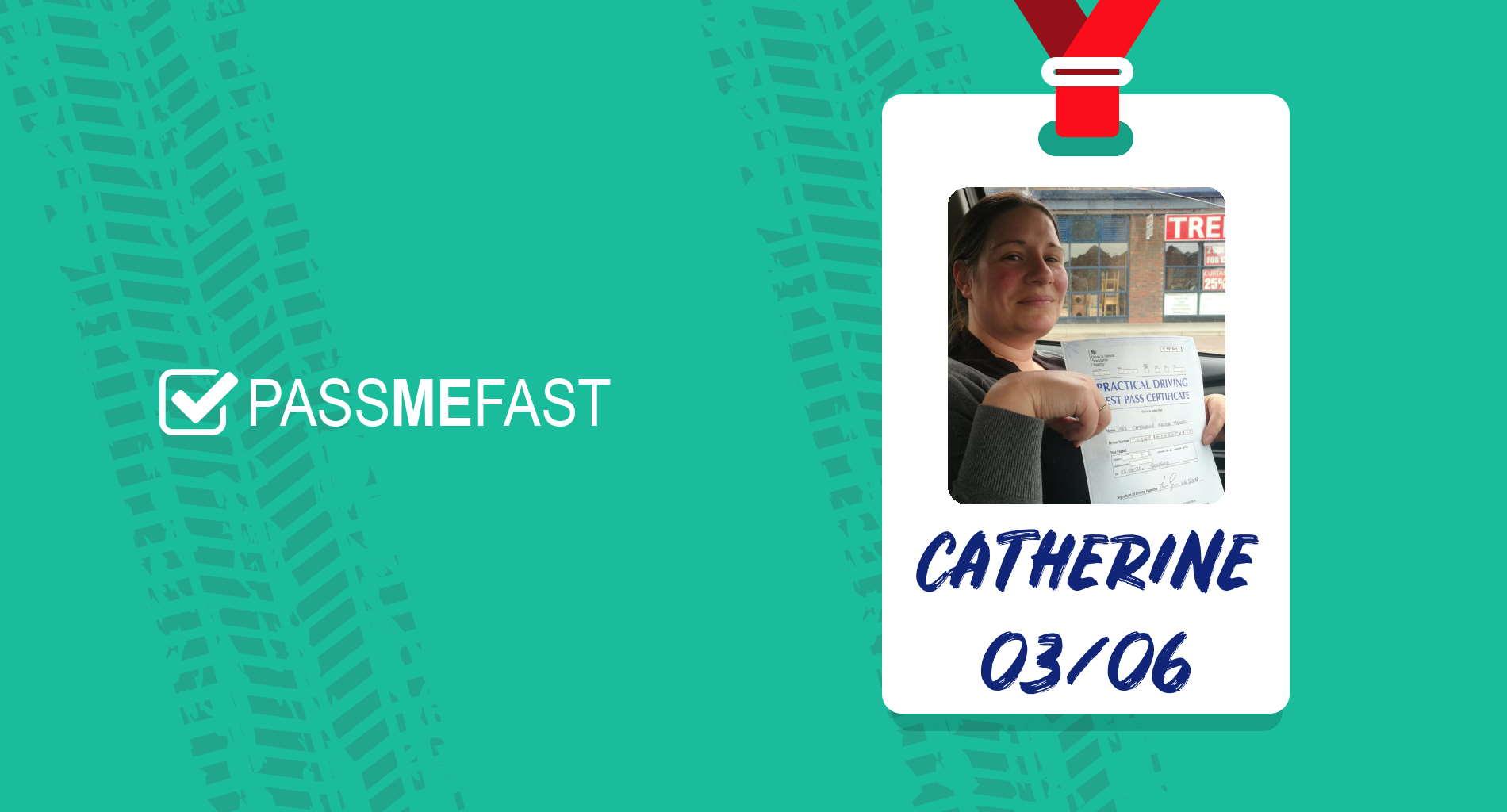 Pass photo of PassMeFast student Catherine