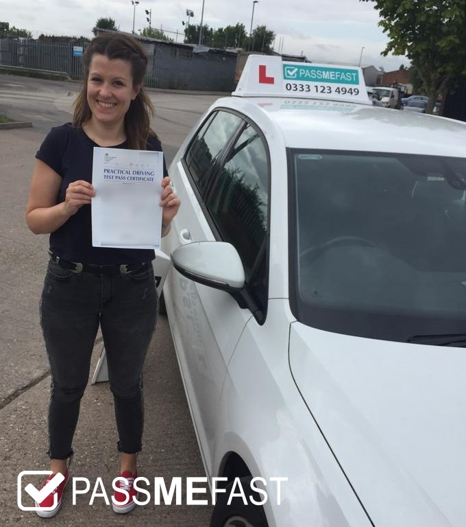 July pass photo of PMF student Ciara