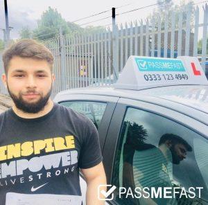 Pass photo of PassMeFast learner David