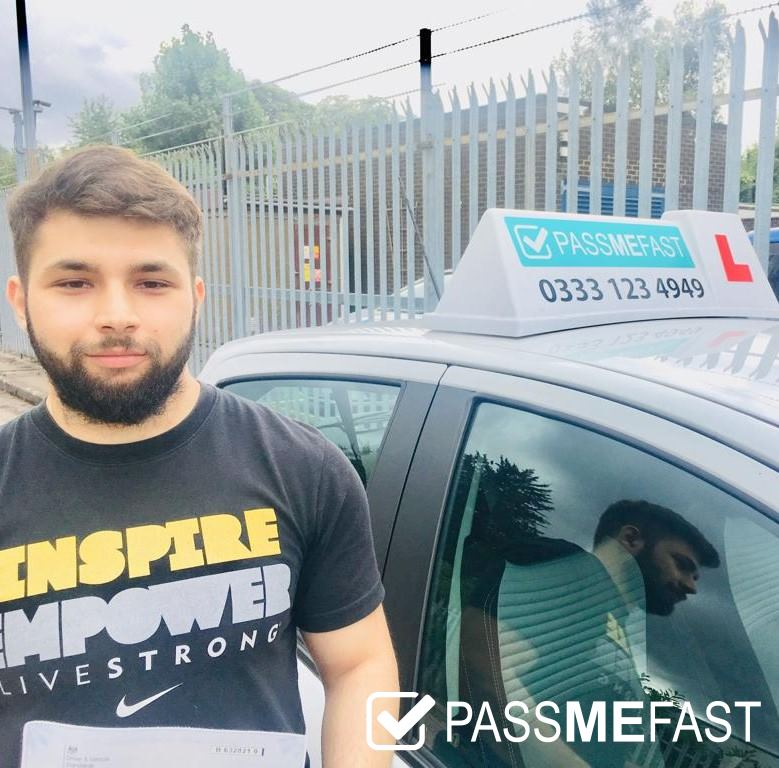 August pass photo of PassMeFast learner David