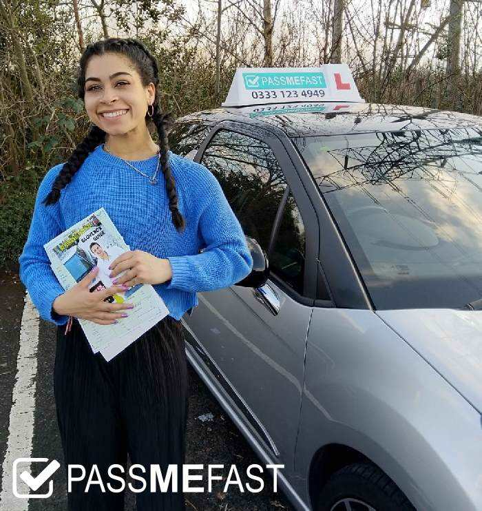 Pass photo of PassMeFast learner Deeana