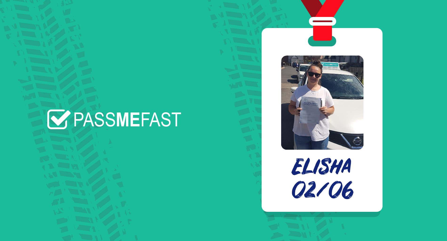 Pass photo of PassMeFast student Elisha