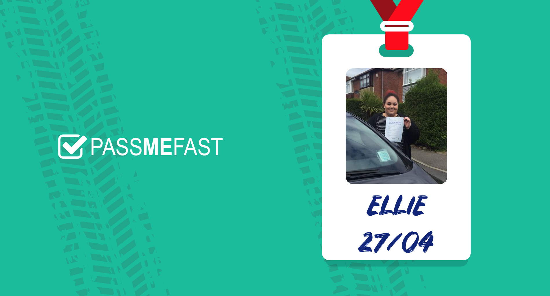 Pass photo of PassMeFast student Ellie