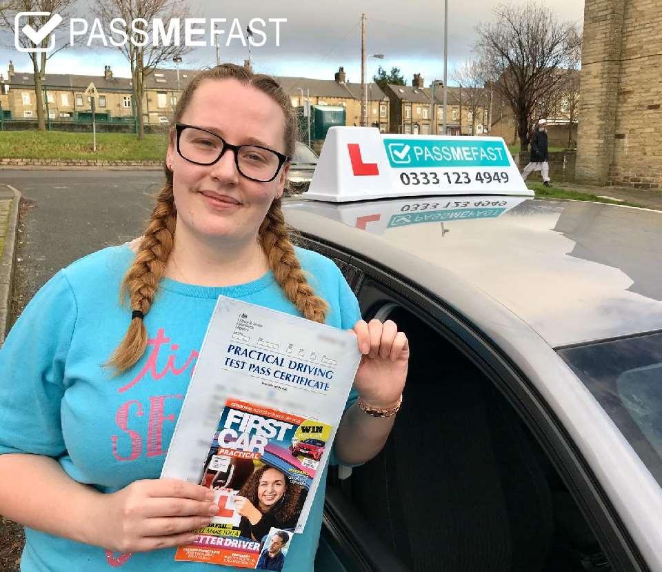 Pass photo of PassMeFast student Emma