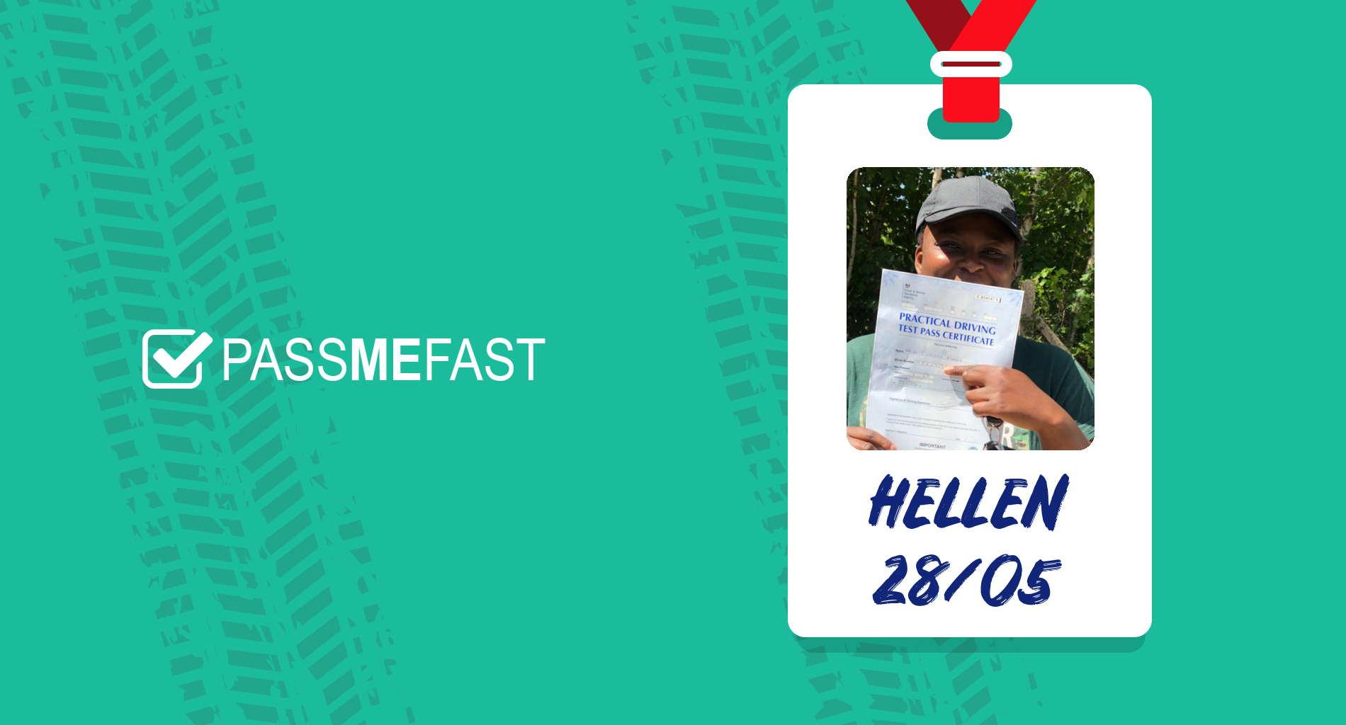 Pass photo of PassMeFast student Hellen
