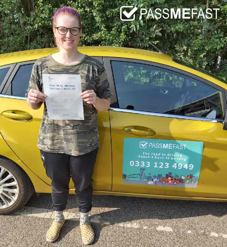 August pass photo of PMF student Jessica