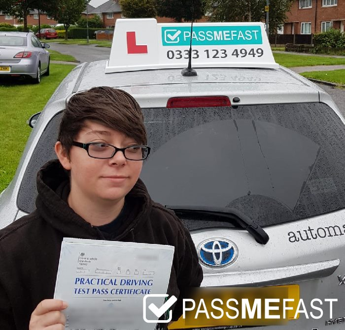 August pass photo of PMF student Keeley