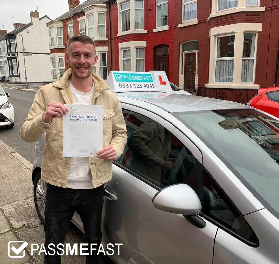 Pass photo if PassMeFast student Paul