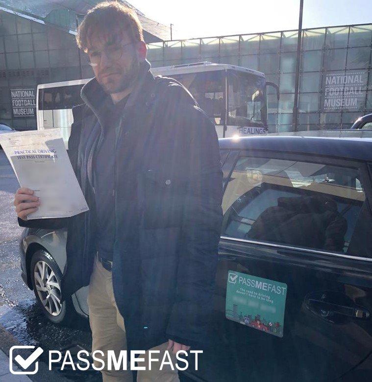 Pass photo of PassMeFast student Theo