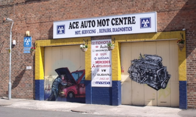 Ace MOT test centre