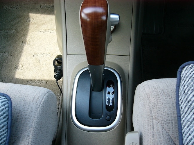 An automatic gear stick