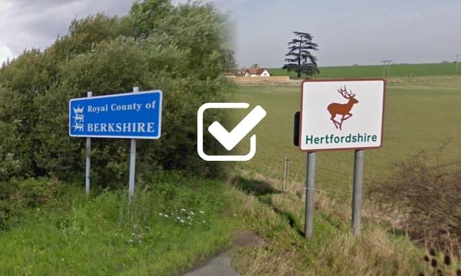 Berkshire and Hertfordshire launch