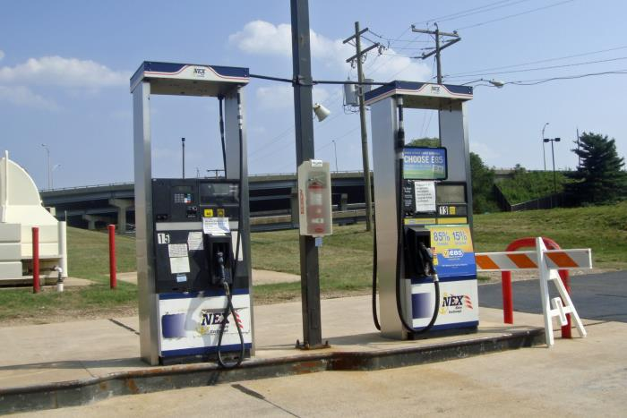 Biofuel pumps in America