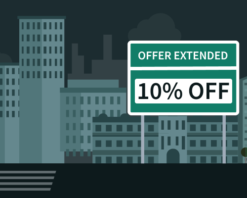 Black Friday offer extended