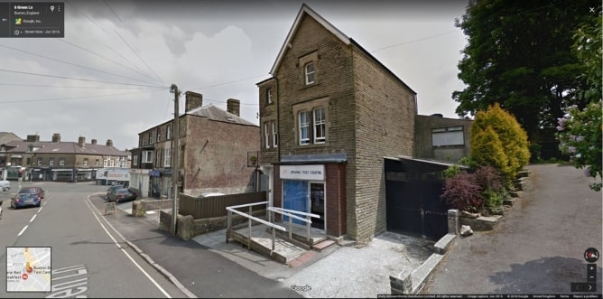 Buxton street view image