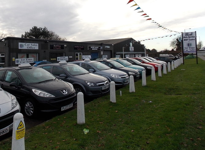 Car dealership and auto service/MOT centre