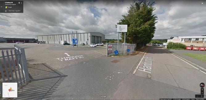 Chelmsford (Hanbury Road) street view image