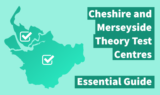 Map of Cheshire and Merseyside