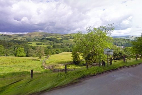 Border of Derbyshire