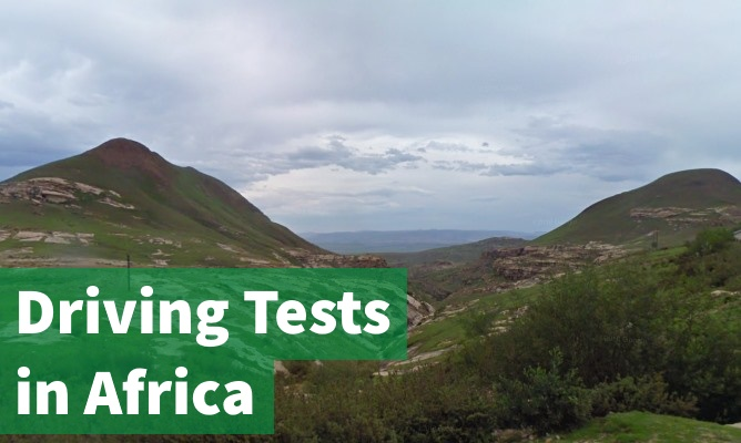 Driving Tests in Africa