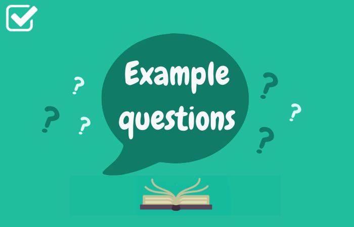 Example questions featured image