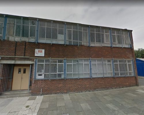 Failsworth test centre streetview screenshot