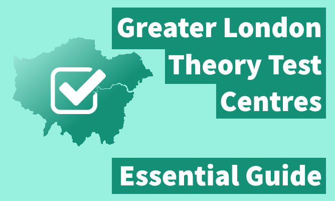 Greater London theory test centres