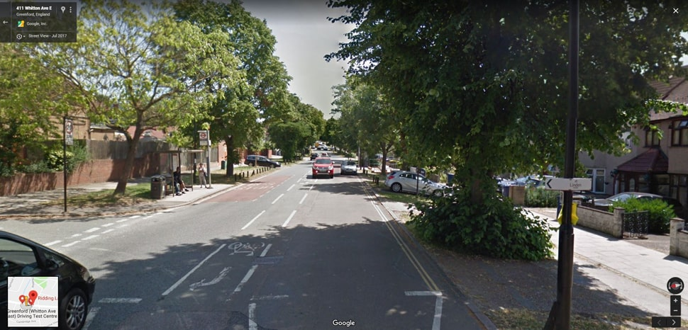 Greenford (Whitton Avenue East) street view image