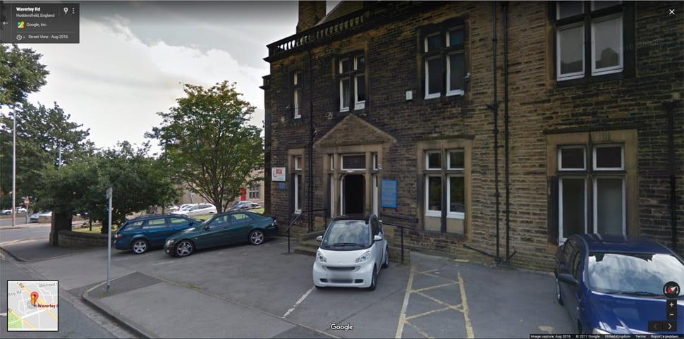 Huddersfield street view image