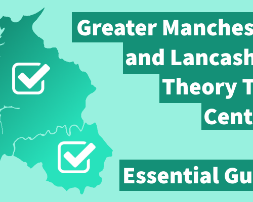 Map of Greater Manchester and Lancashire