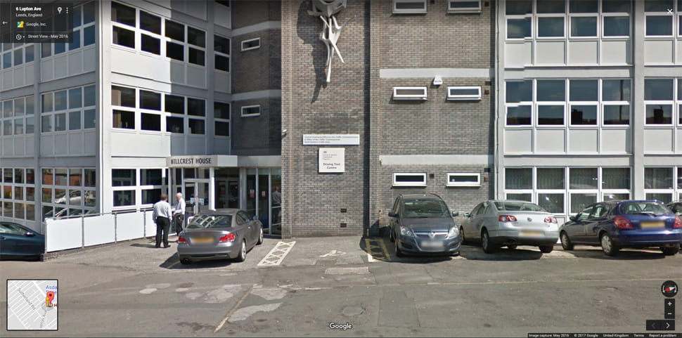 Leeds street view image