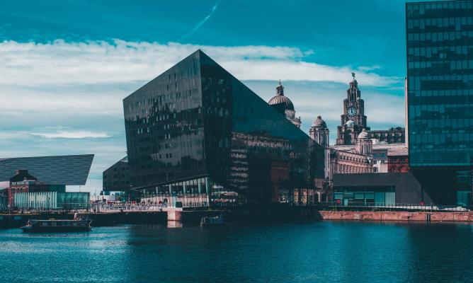 Waterfront at Liverpool's Albert Dock