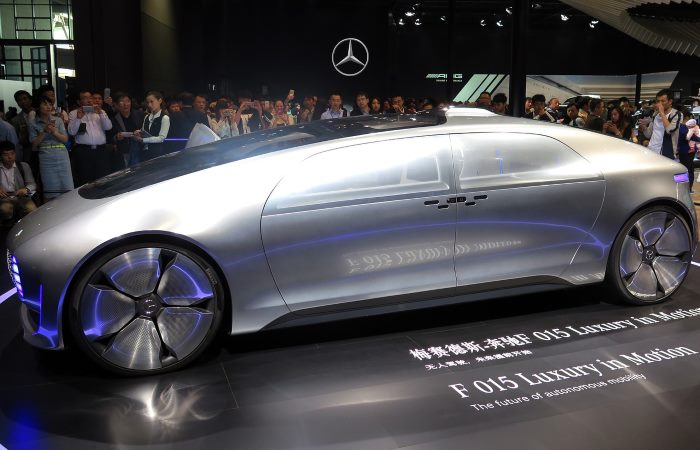 Mercedes Cyborg concept car