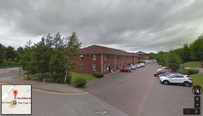 Street view outside Oldham theory test centre
