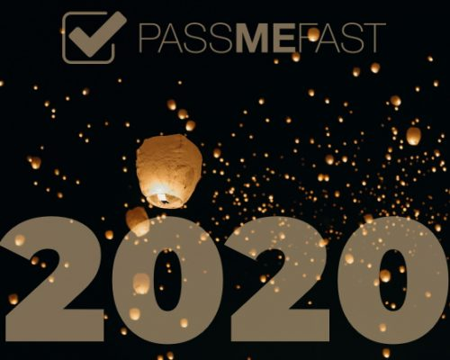 PassMeFast 2020 over background of lanterns