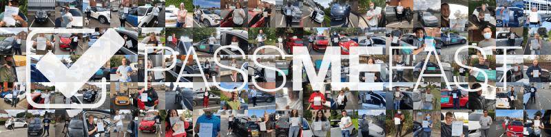 Collage of pass photos under PassMeFast logo