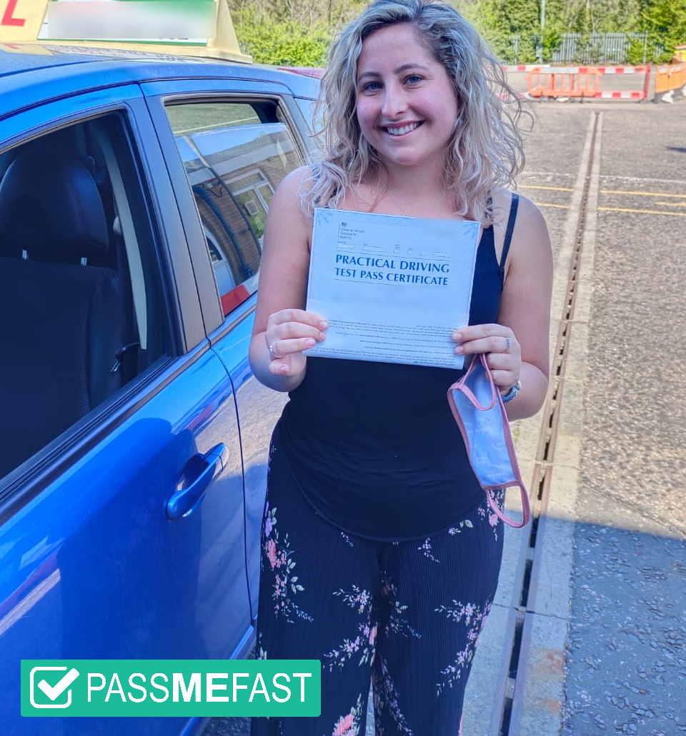 Pass photo of PMF student Rhianna