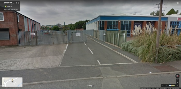 Rotherham street view image
