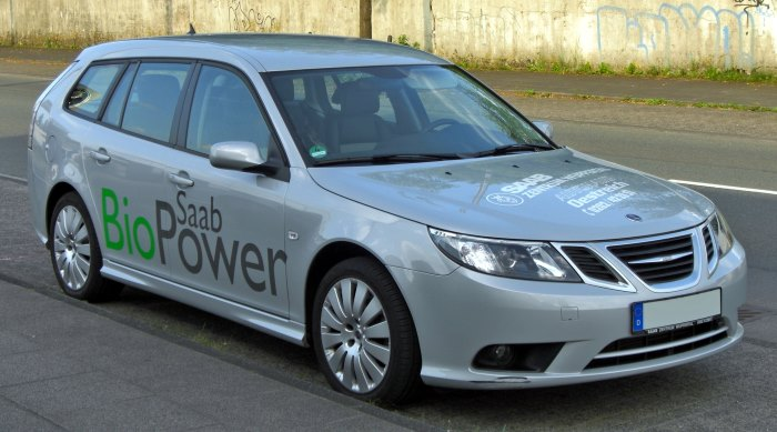 Saab biopower car