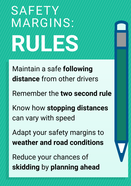 Safety margins rules