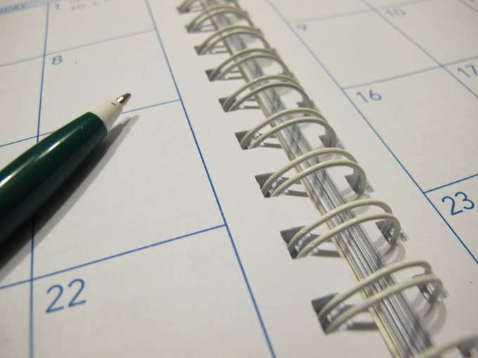 A diary for scheduling