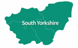 South Yorkshire Area Map