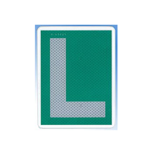 L plate used by Spanish drivers