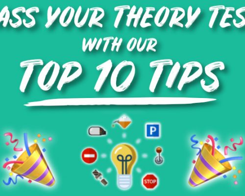 Pass your theory test with our top 10 tips