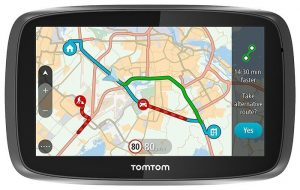 TomTom map view