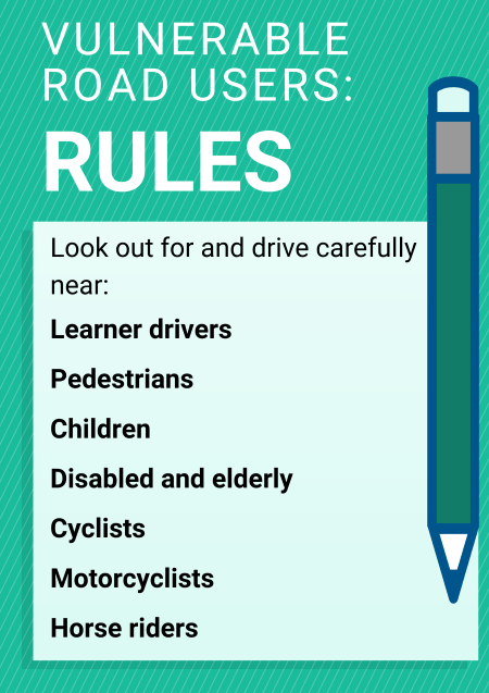 Vulnerable road users rules