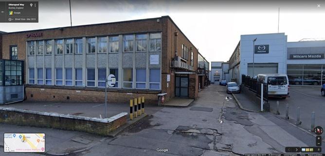 Watford street view image